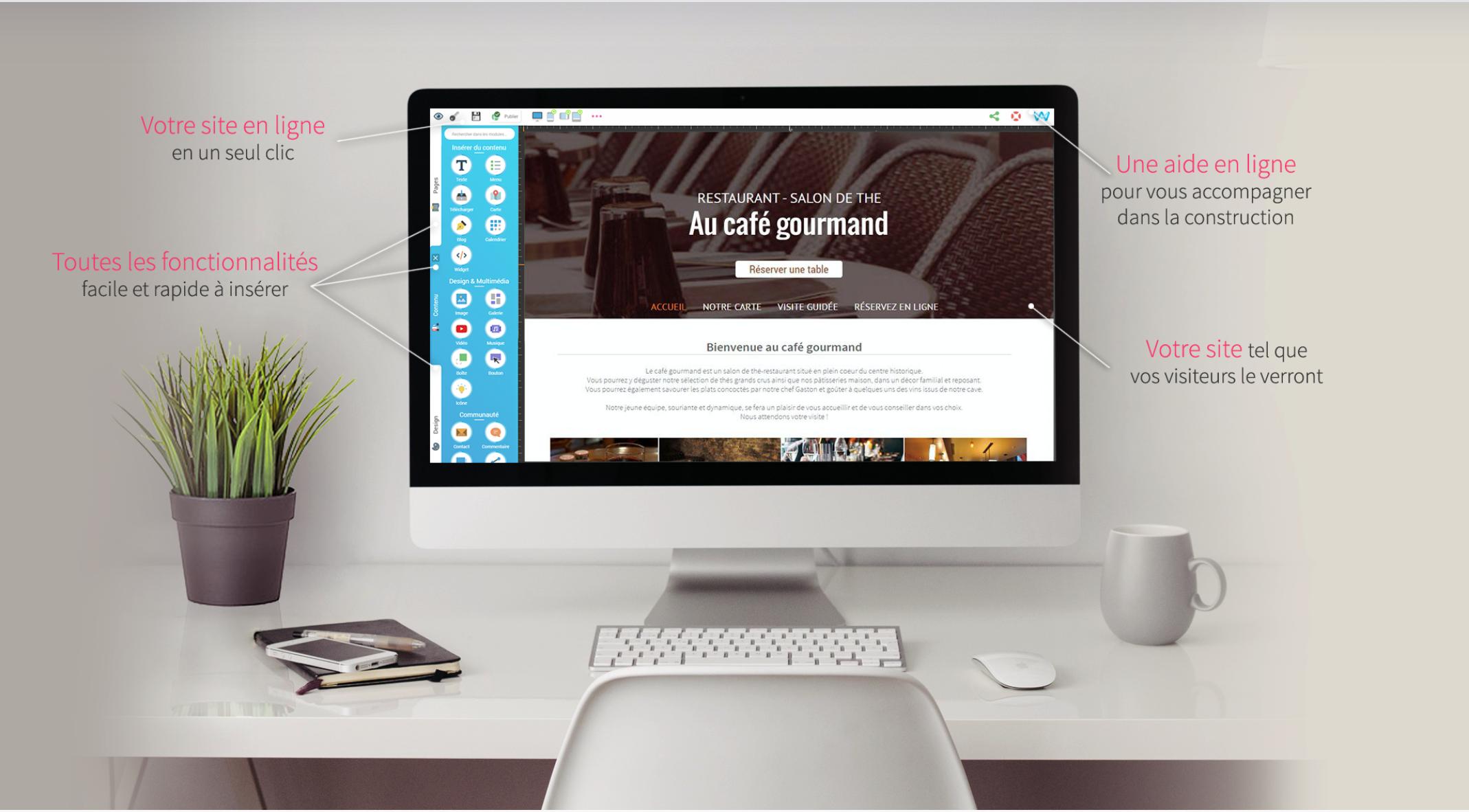8 plateformes de conception gratuites pour créer un site